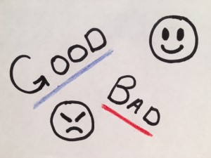 Good guy v. bad guy stories are memorable