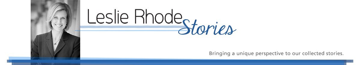 Leslie Rhode Stories Logo